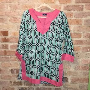 Simply Southern Patterned Tunic XL